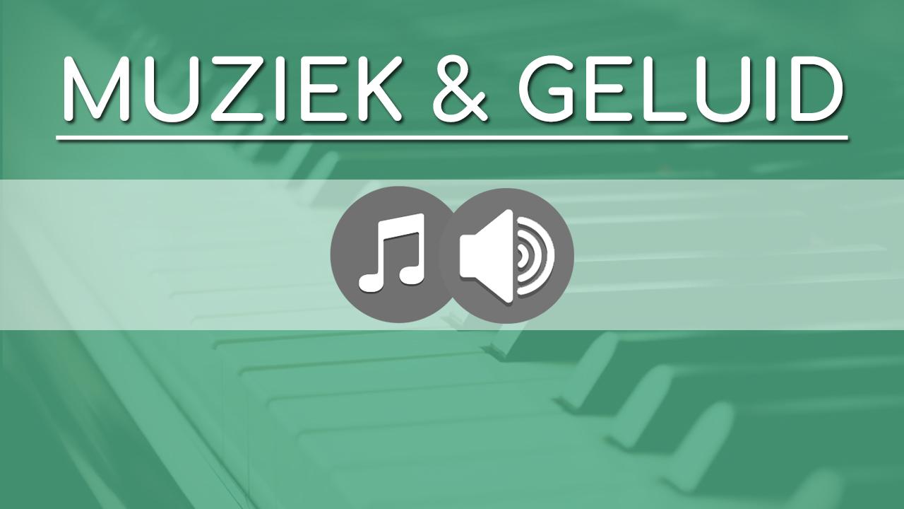 Video reel thumbnail Muziek Geluid 03